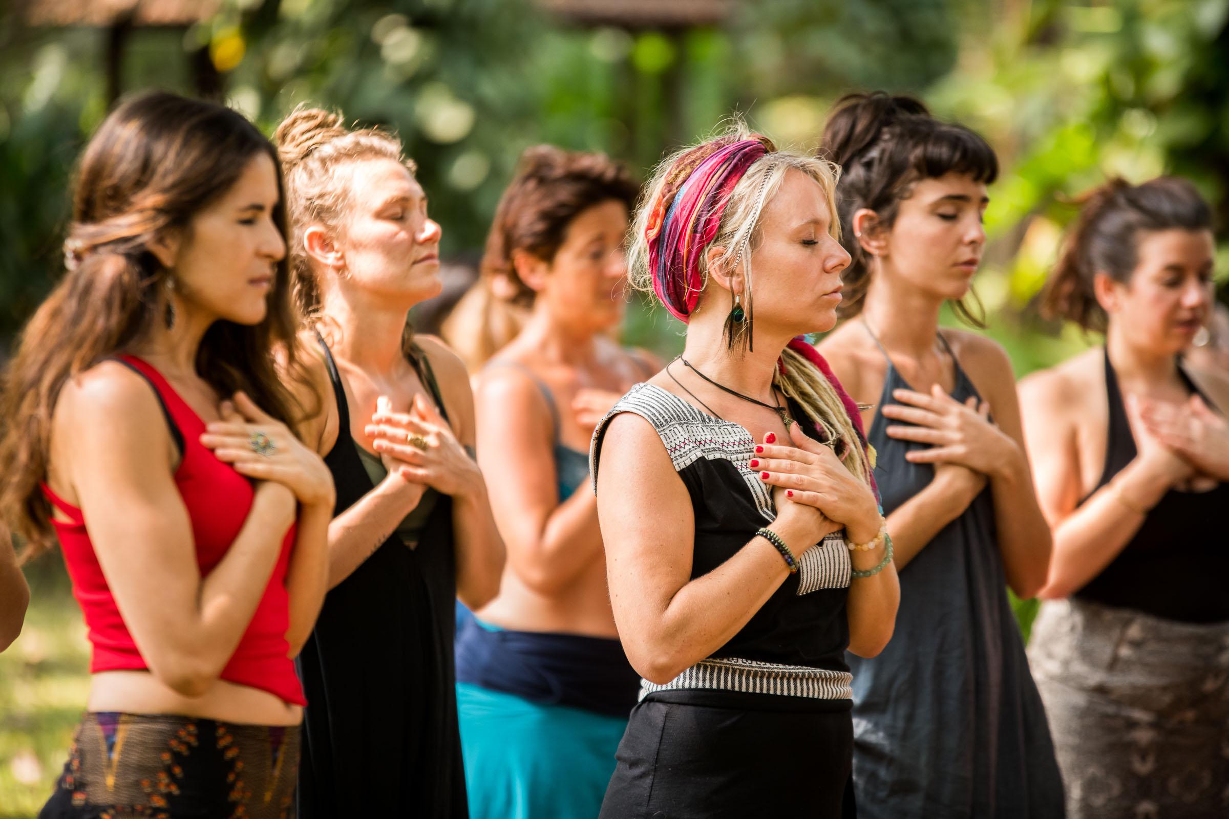 Wild Women Retreat & Workshop Photography captured by International Portrait Photographer