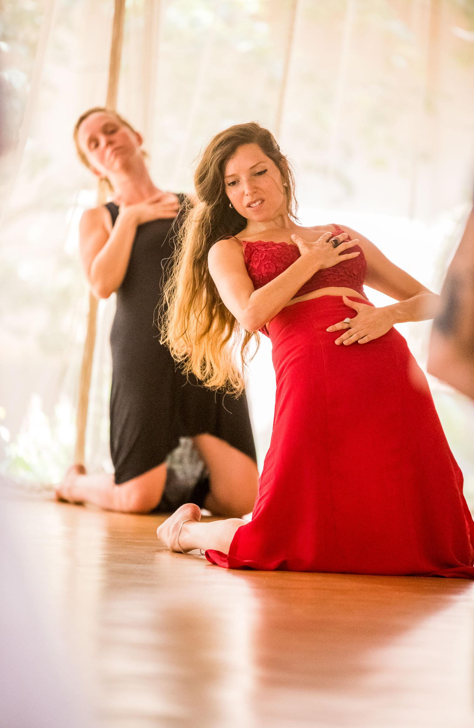Dance Portrait of an international dancer and retreat organiser captured by Magdalena Smolarska Photography