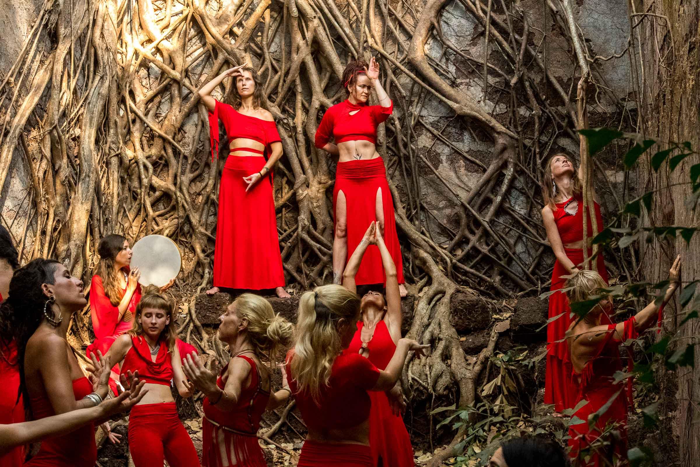 Wild Women Sisterhood Intense Dance Workshop and retreat in India - Magdalena Smolarska Photography