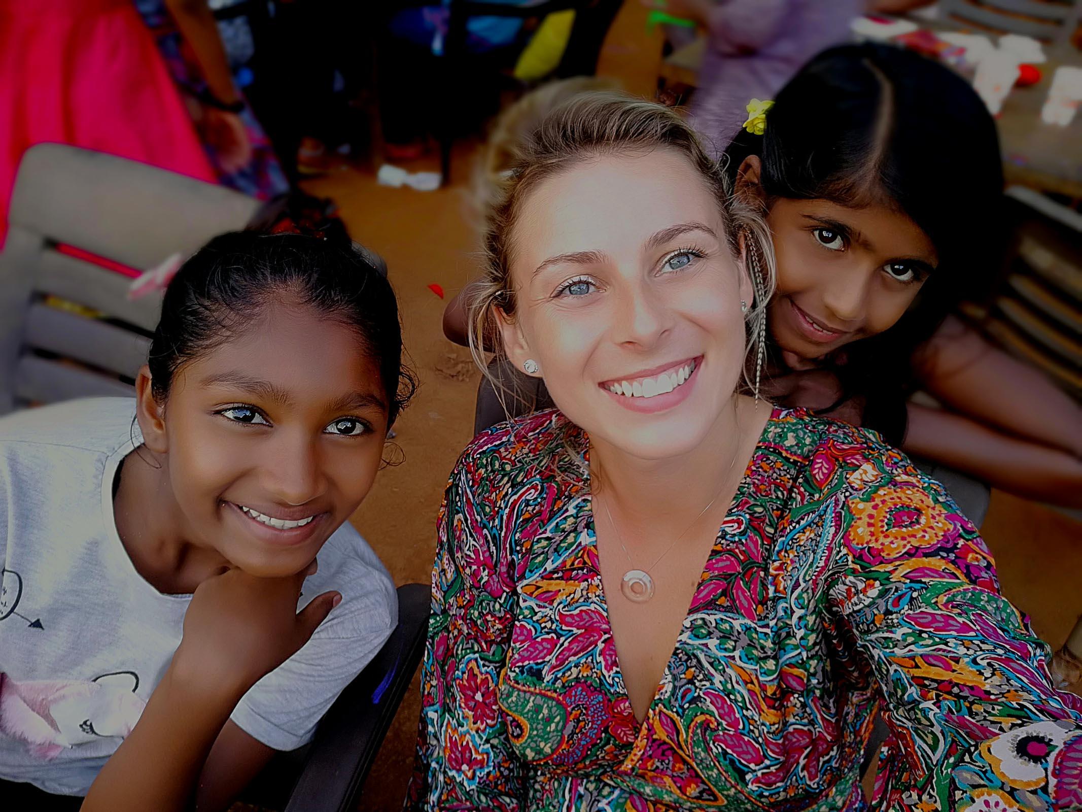 Documentary Photographer in India with Orphanage girls- Magdalena Smolarska Photography