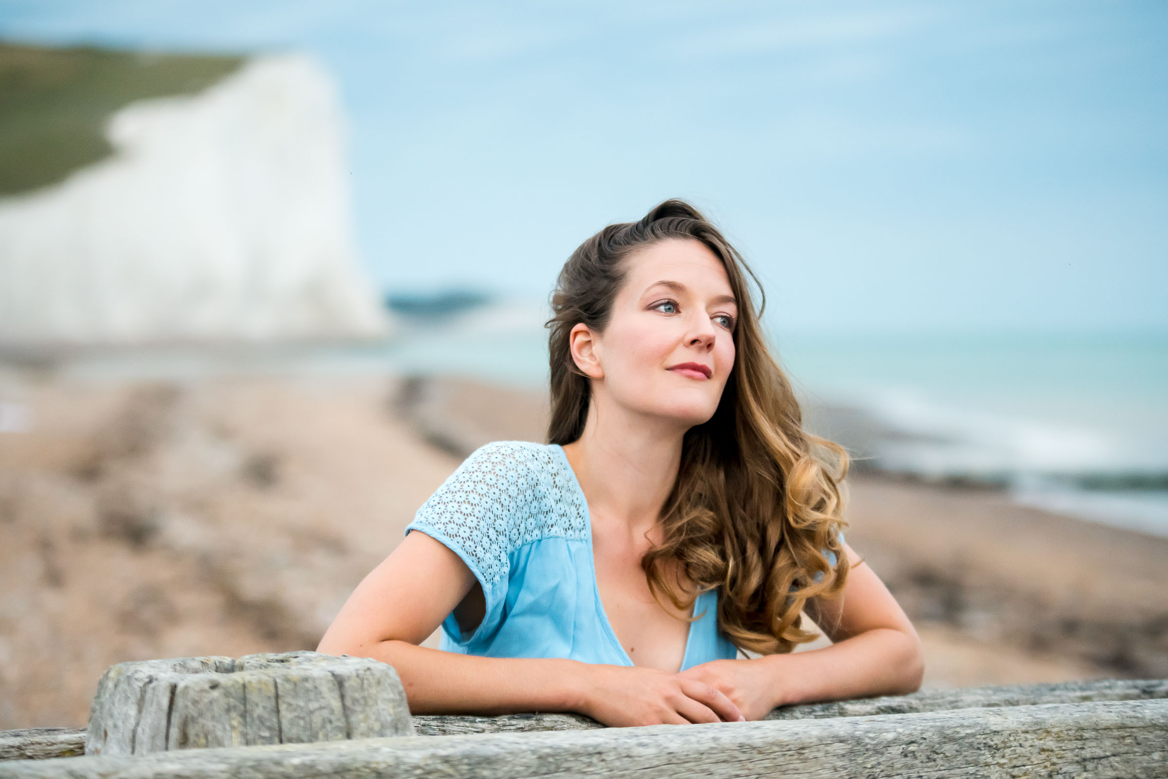 Relax and fun outdoor personal branding portrait photoshoot with Magdalena Smolarska Female Photography near you Sussex Brighton and London UK