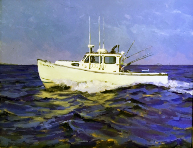 Yes I do boat portraits - the more action going on the better!