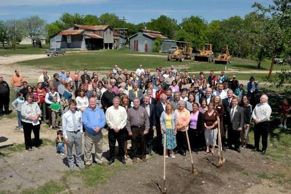GroundBreaking for Education building, 2009