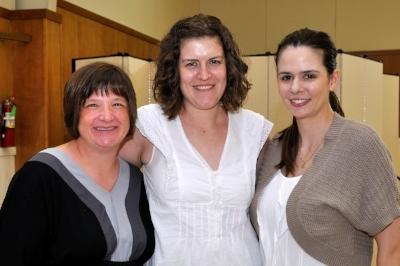 Amy Howell, Rev. Valerie Vogt, Stephanie Katauskas