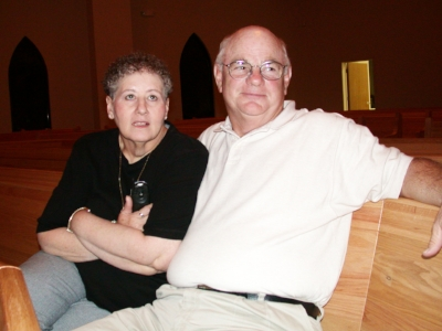Mary Jane and Ron Sandford, April 14, 2002