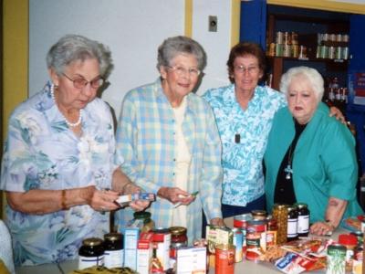 Doris walker, mary helen Jennings, Joan Tyson, Nelda Loyd