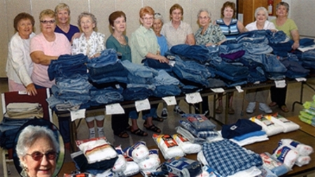 2008 Servant Angels with Blue jeans and Undies