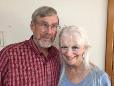 Jill Roberts and Larry Higgins