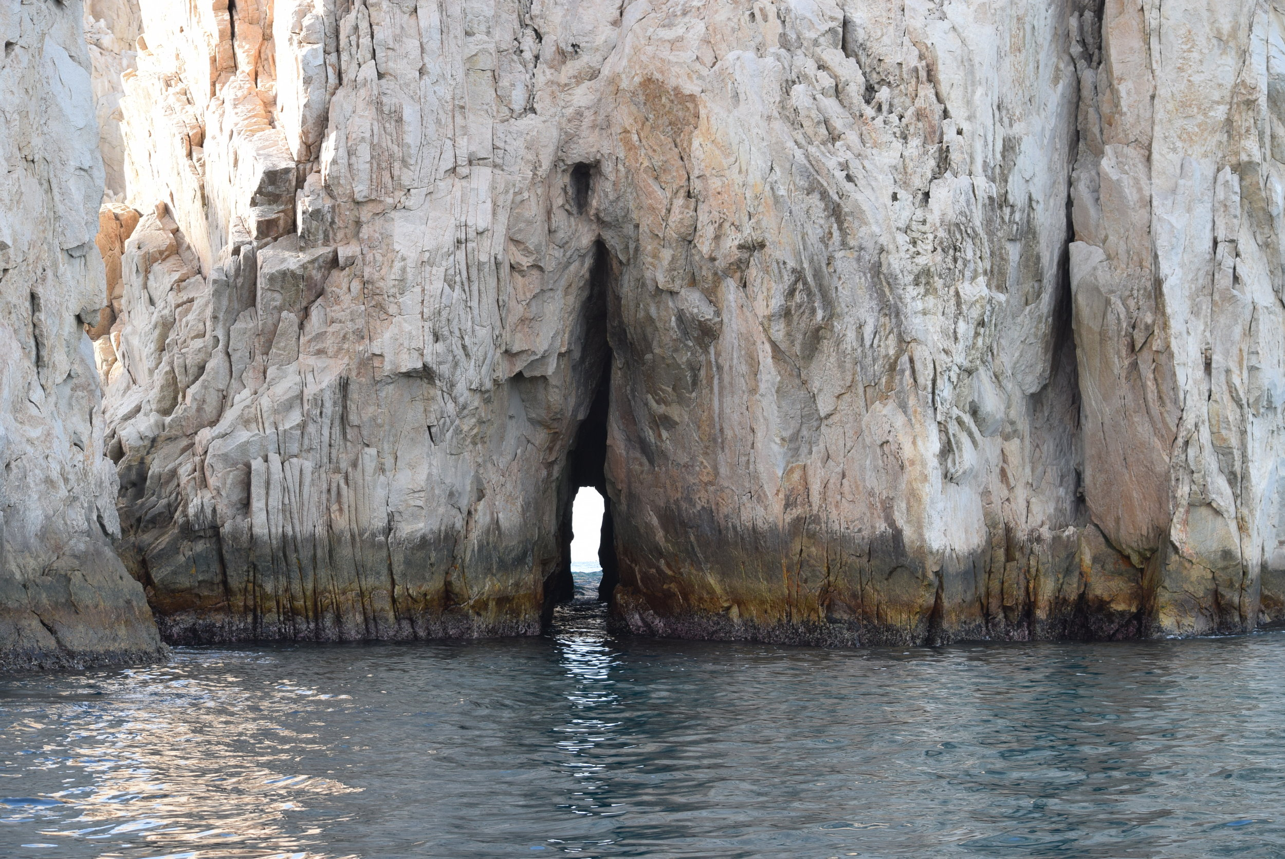 The magnificent rocks of Cabo where the Sea of Cortez meets the Pacific Ocean
