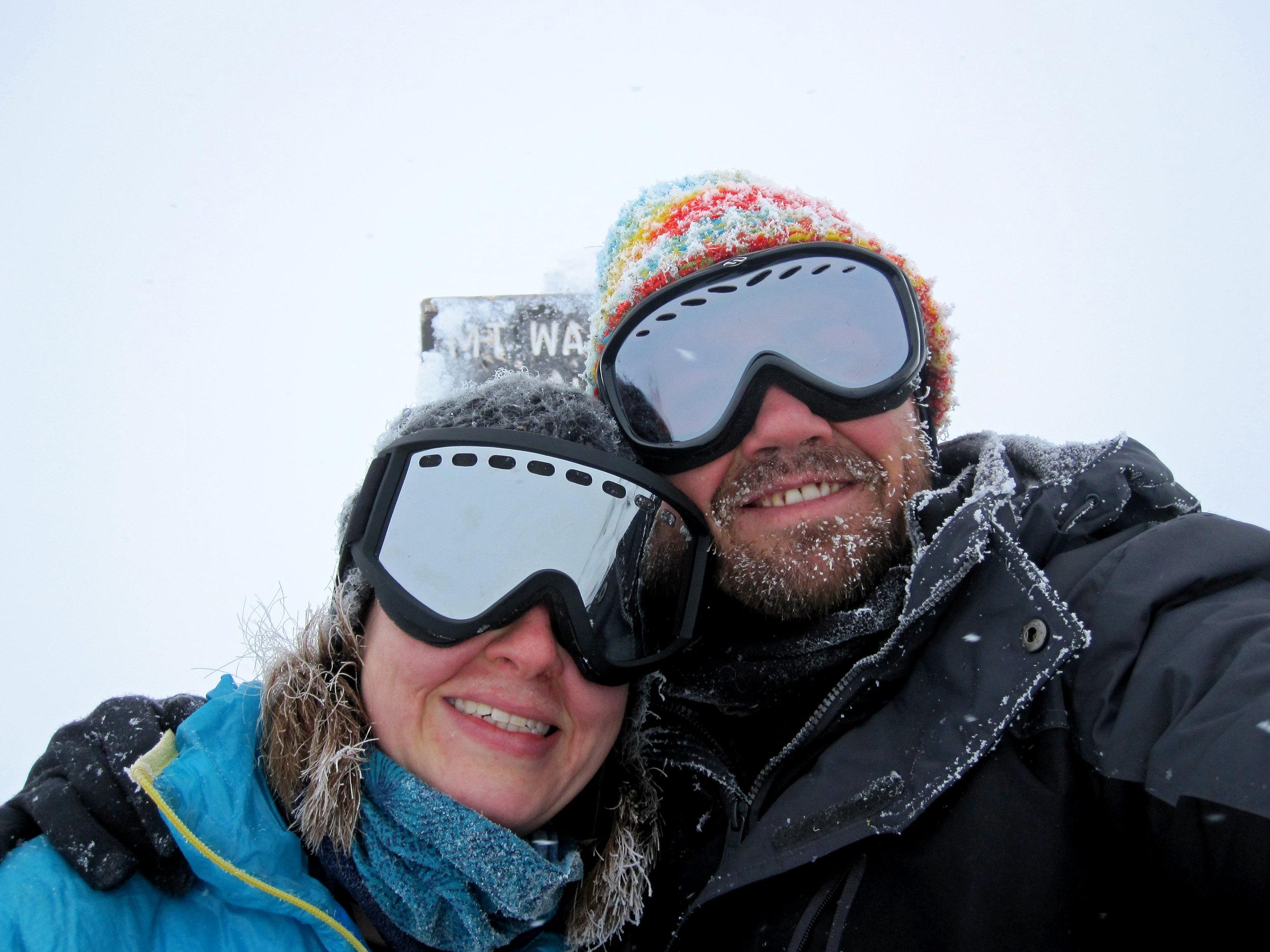 Winter summit of Mount Washington