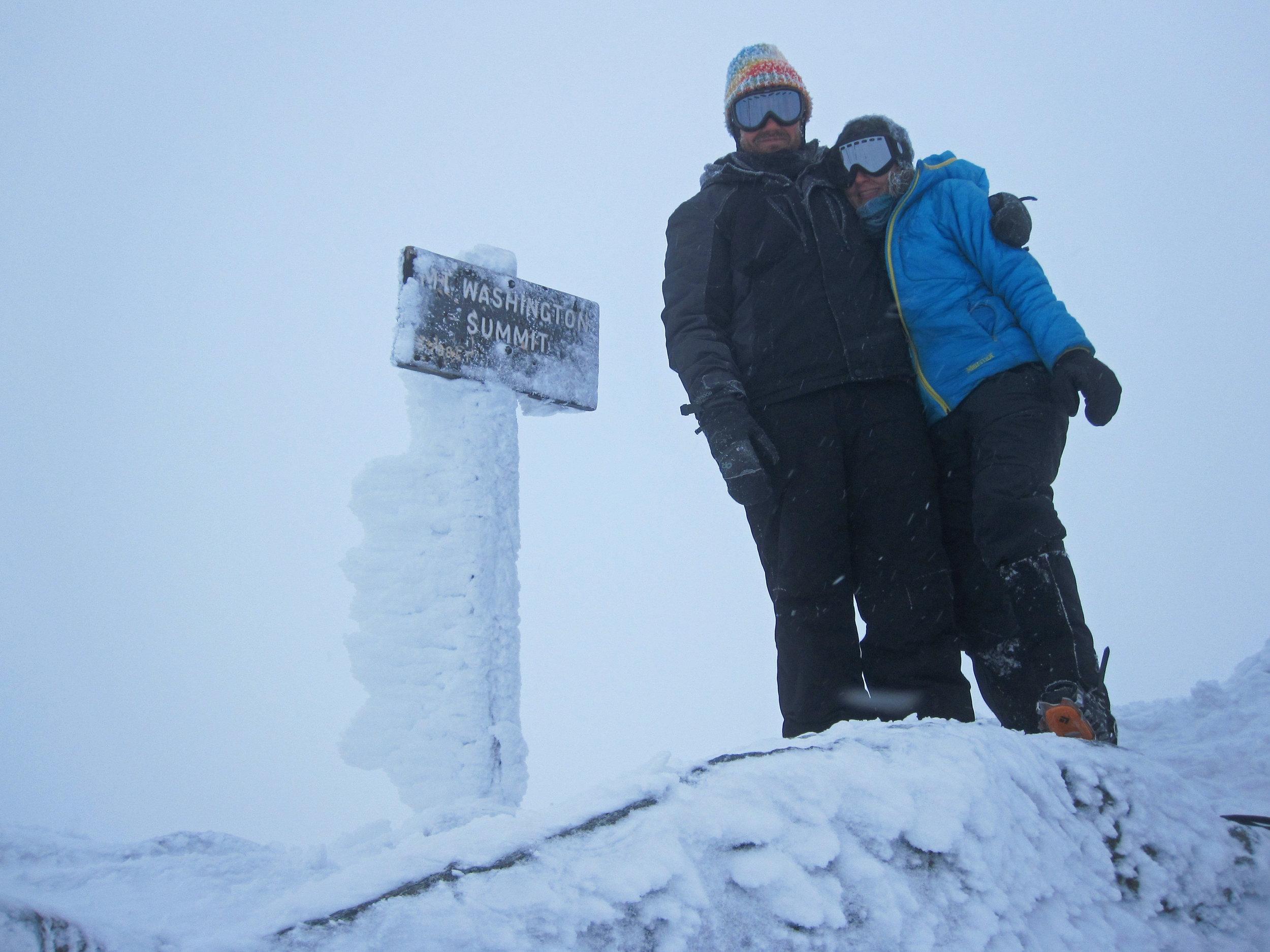 Chilly summit photo