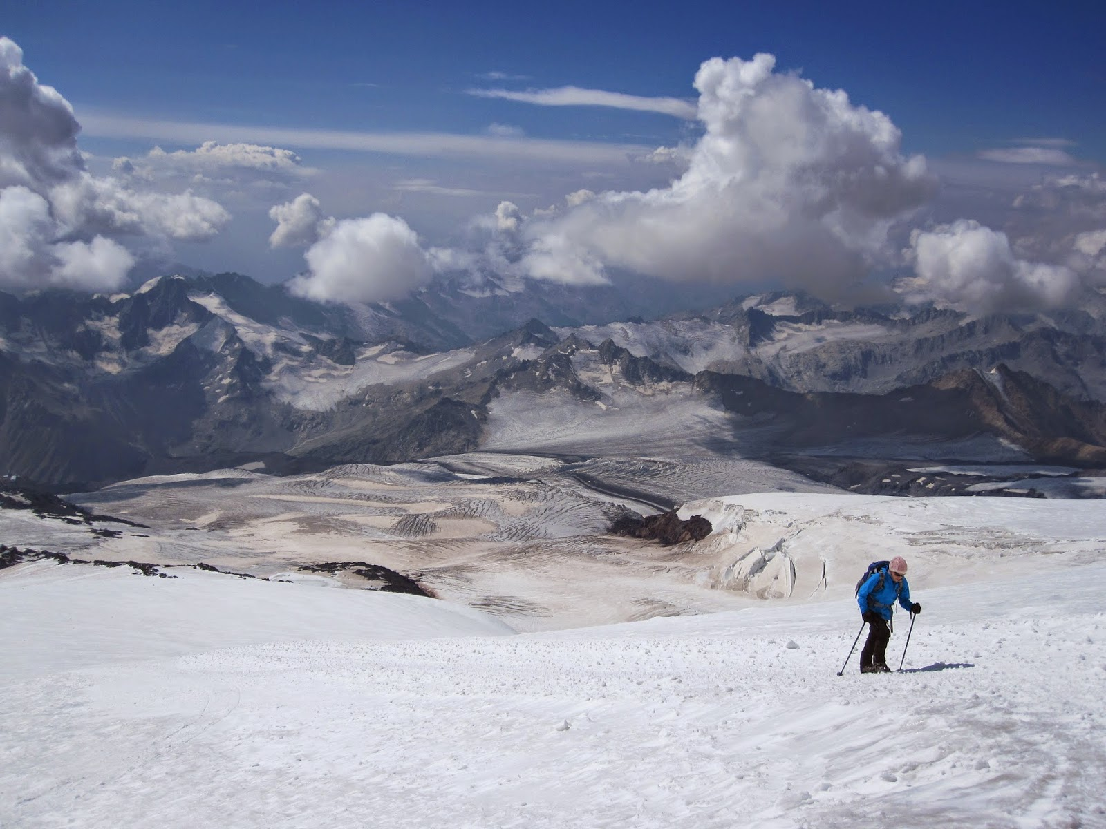 Climbing Mount Elbrus