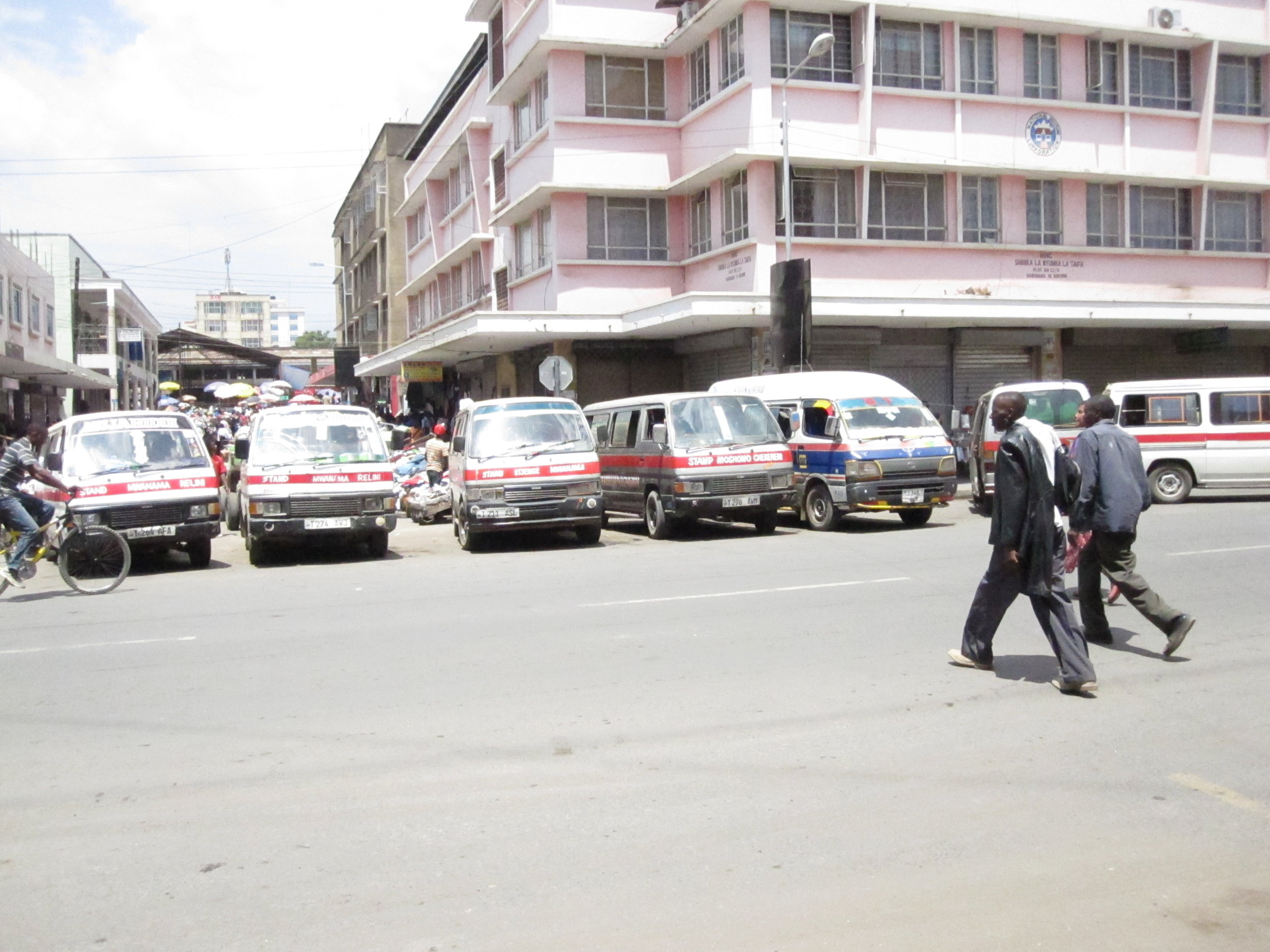 A local market in Arusha