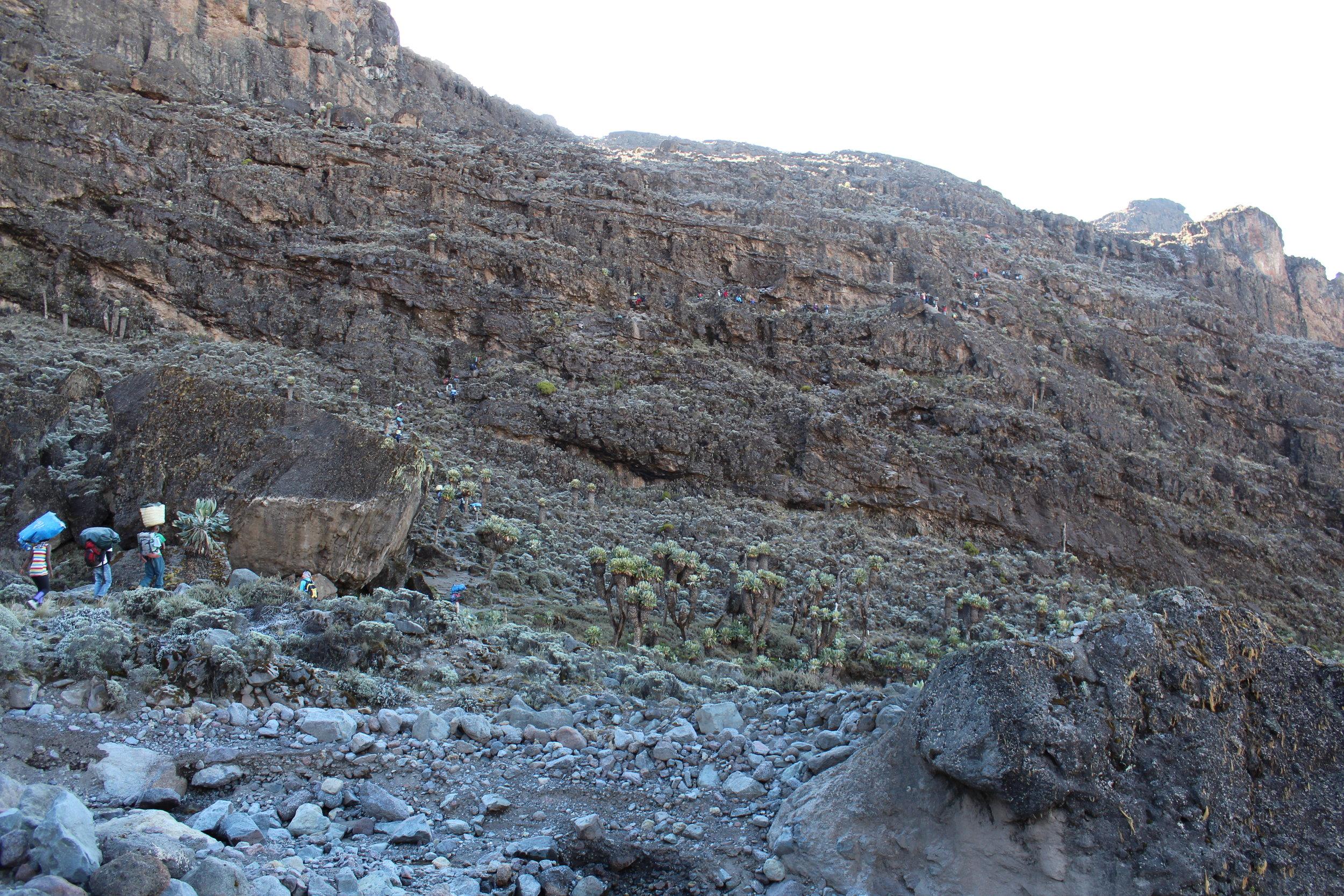 The Barranco Wall