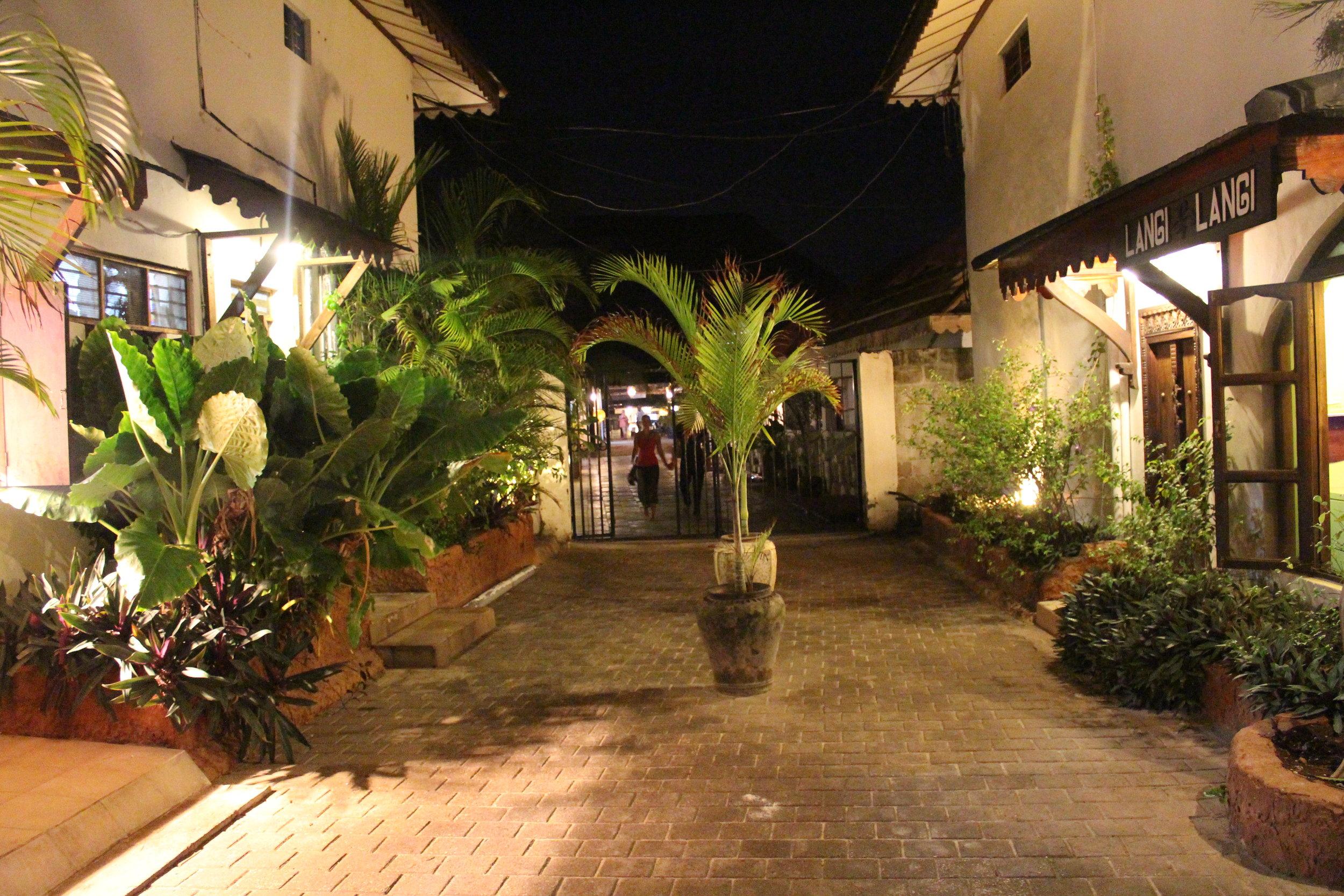 Nungwi, Zanzibar at night