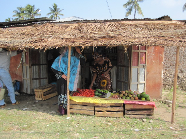 Local shop in Stone Town