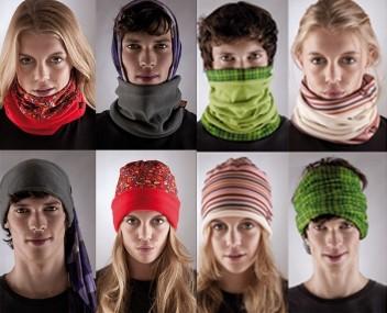 How to wear a polar buff