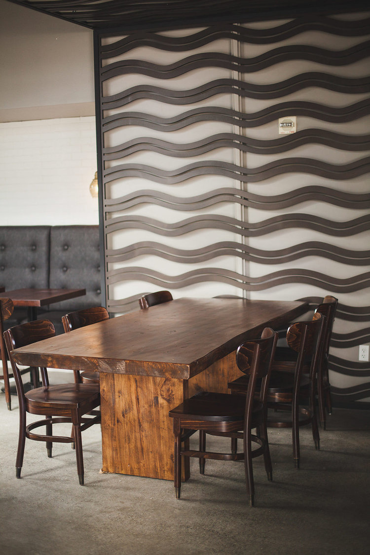 Honor Coffee and Tea,Seattle, WA   Custom panels, room divider