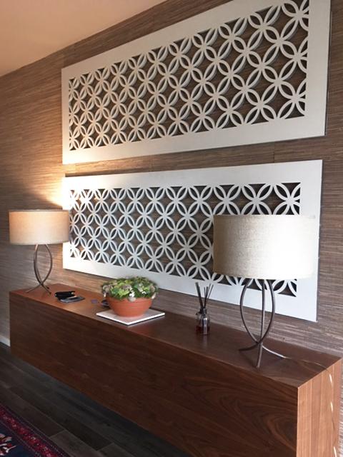 Japanese Circle, Decorative wall panels
