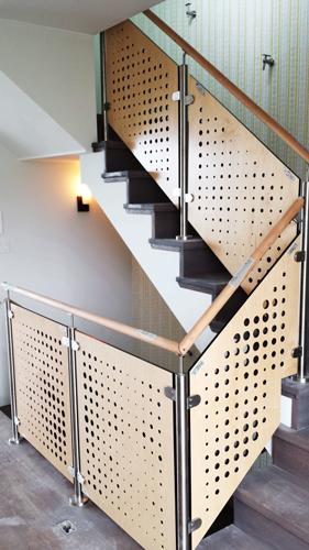 San Francisco, CA - Gast Architects  Custom pattern, Stair Railing