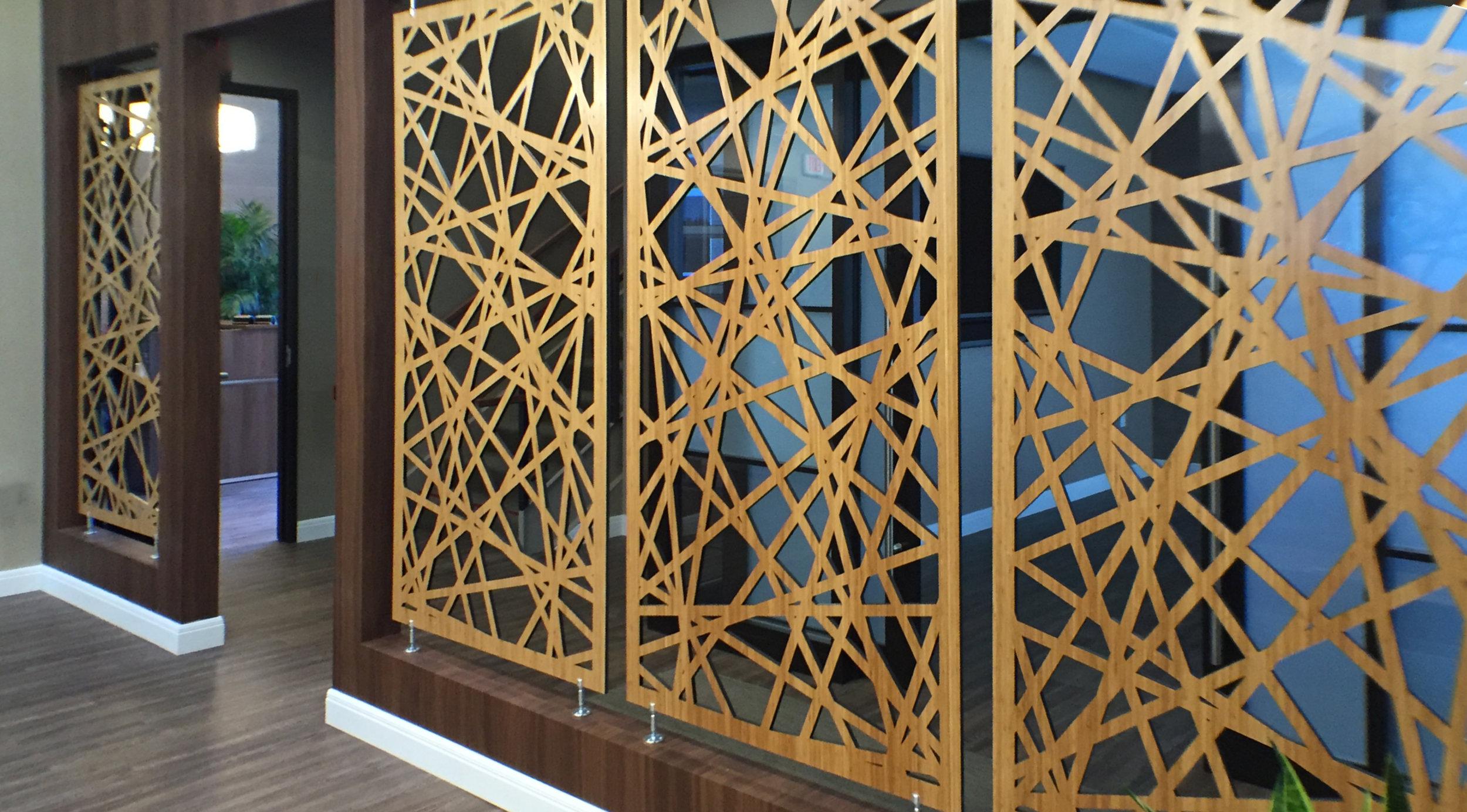 Simnsa,El Cajon, CA - Artistry Custom Cabinetry  Palomar, Wall partition