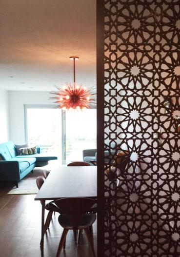 Residence, Phoenix Marketing Intl   Star Pattern, Wall partition