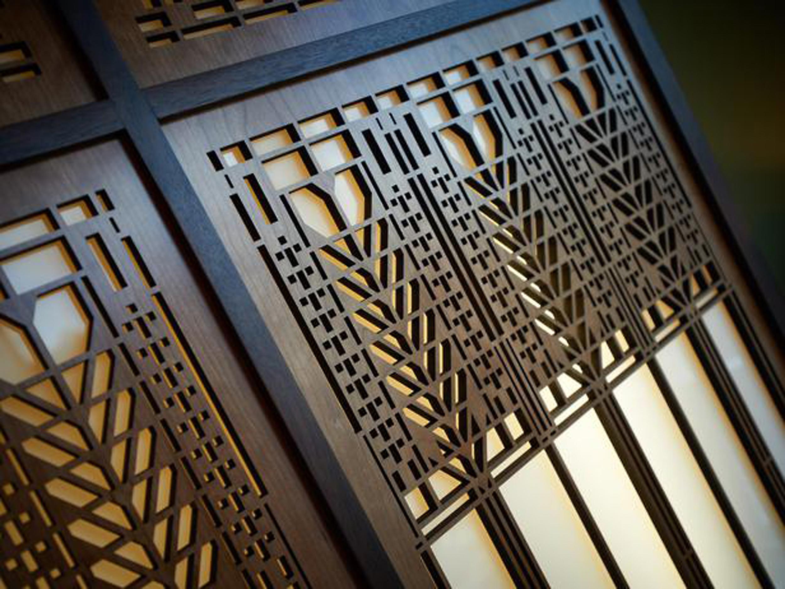 Frank Lloyd Wright Laser Cut Products