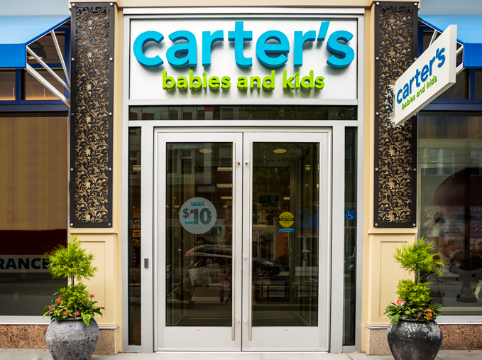 Carters, Commonwealth Building, Assembly Row Storefronts, Quincy, MA    Crocus Spirals, outdoor decorative panels