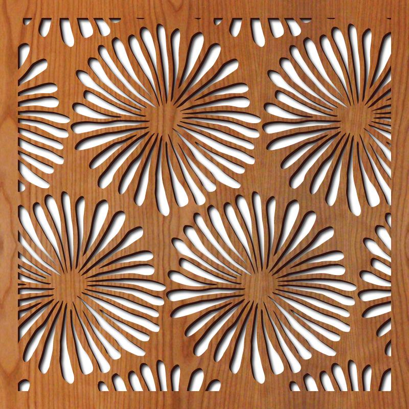Daisies rendering 23 in. x 23 in.