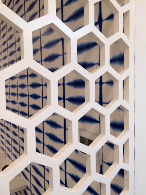 Honeycomb Laser Cut Pattern Lightwave Laser