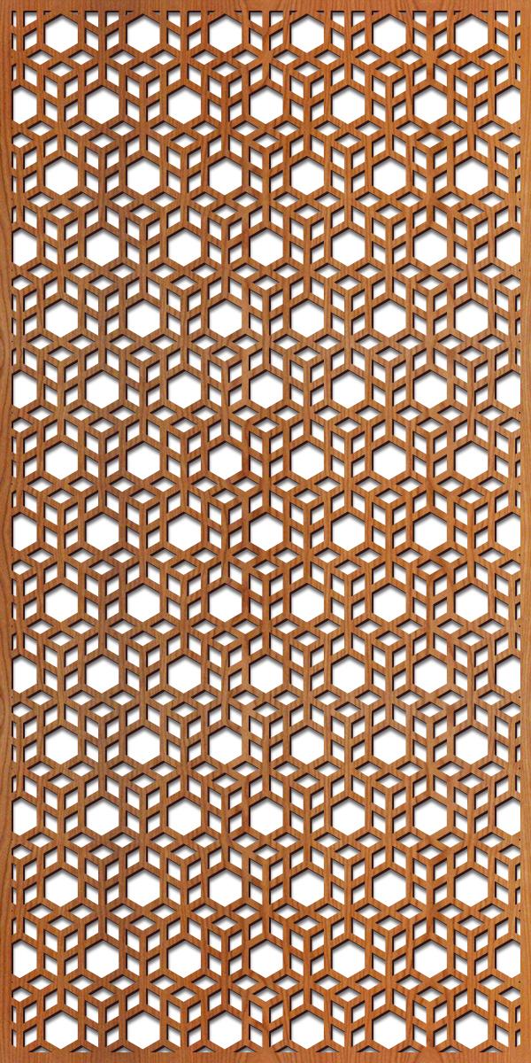 3D Cubes rendering 4 ft. x 8 ft.
