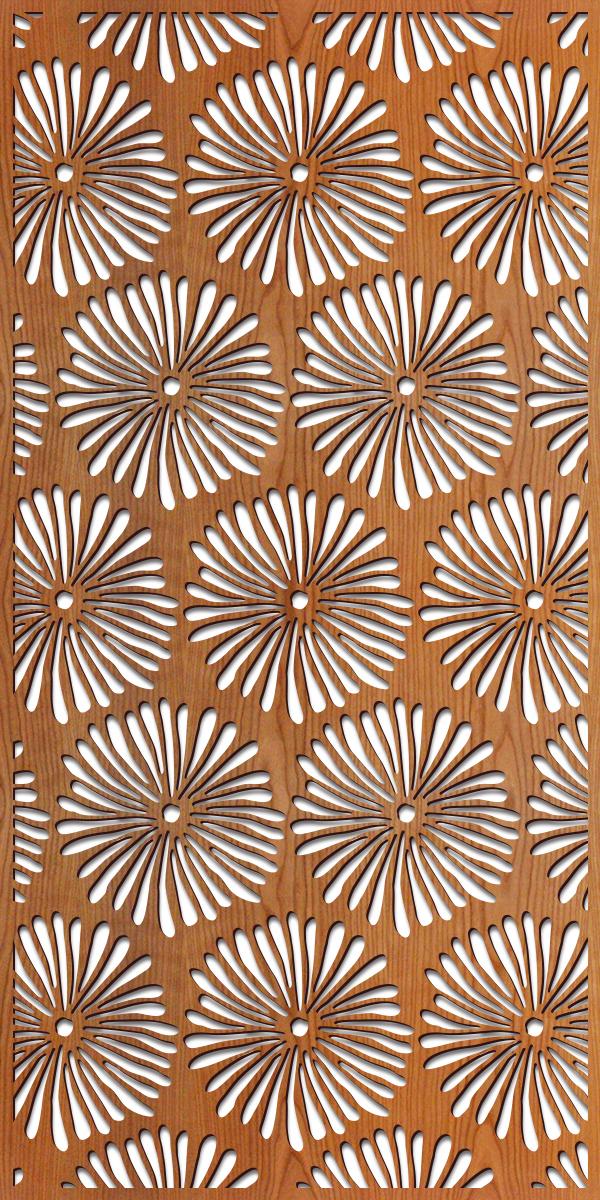 Daisies rendering 4 ft. x 8 ft.