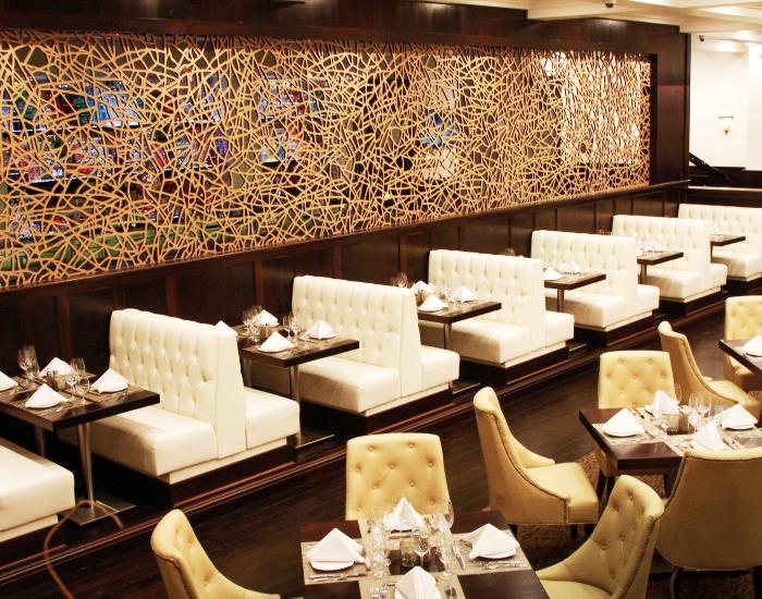 Larsen's Restaurant  - Woodland Hills, CA   Ice Dreams, Wall partition
