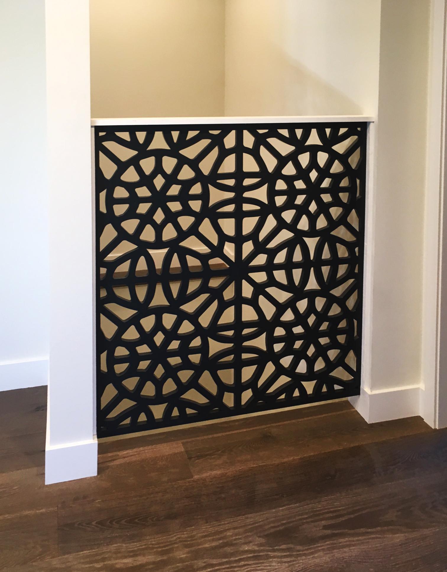 Simon Clark   Brooklyn pattern, stair railing