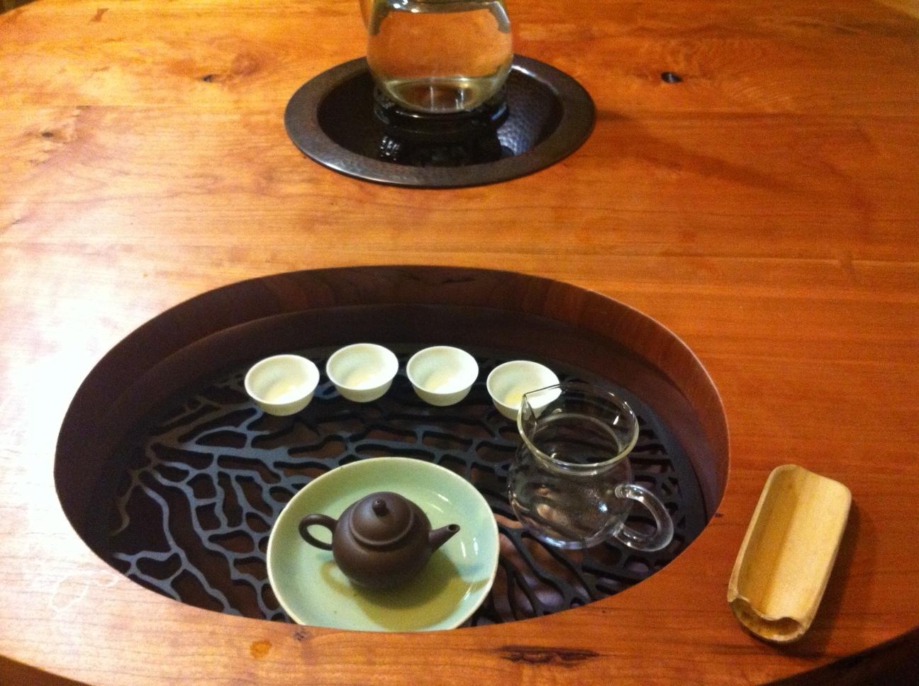 Sea Fan pattern, custom tea drain board