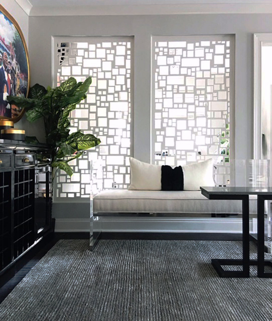 Eclectic Home   Barcelona, white window screens