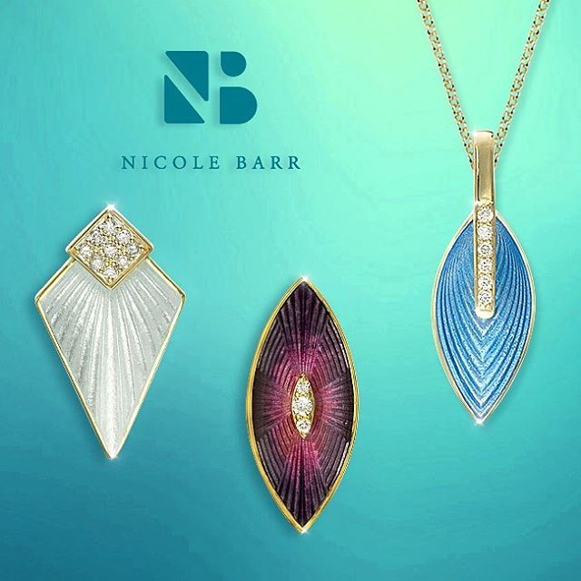 Beautiful enamel with you in mind#nicolebarrjewelry #princetonshoppingcenter #princeton#musthavejewelry