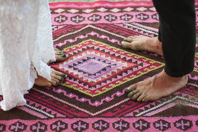 costa rica wedding rug
