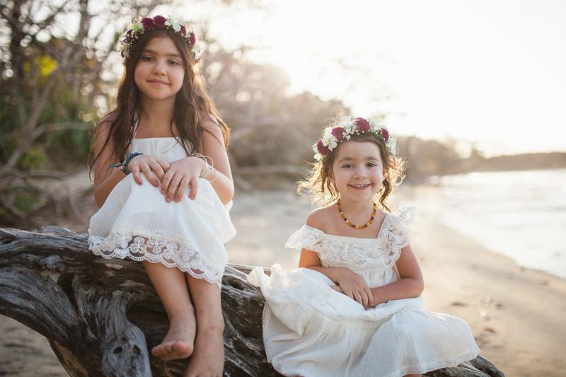 beautiful flower girls