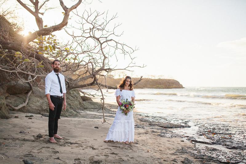 bohemian inspired elopement