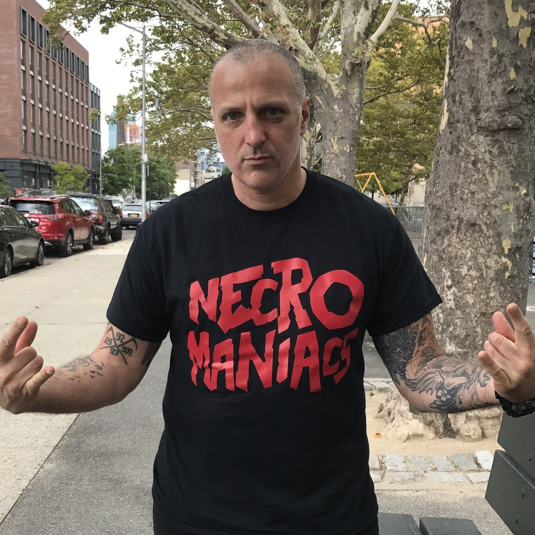 NECROMANIACS SHIRTS ARE IN -