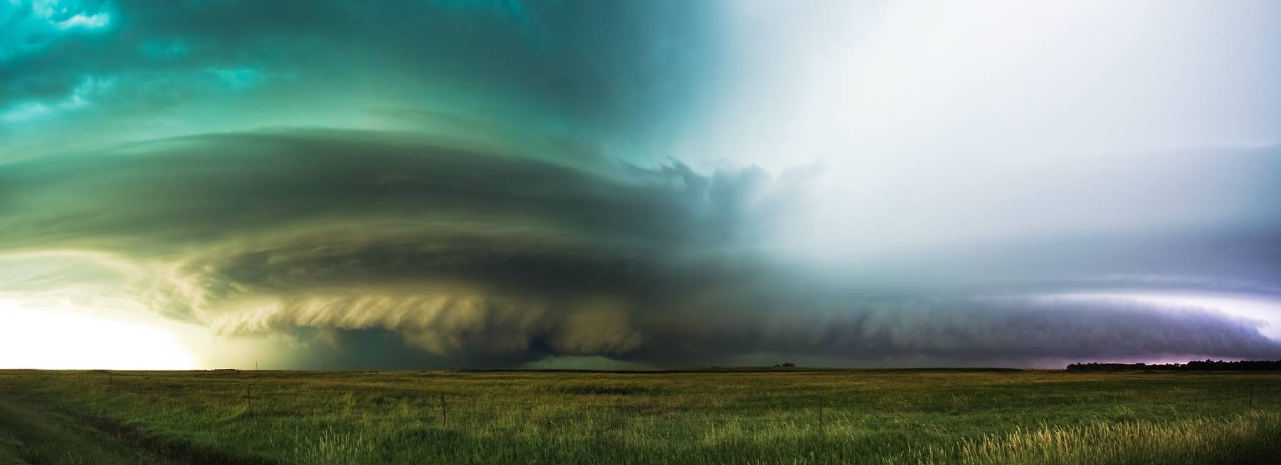 Evan's photograph of the world-record hailstorm in Vivian, South Dakota (July 2010).