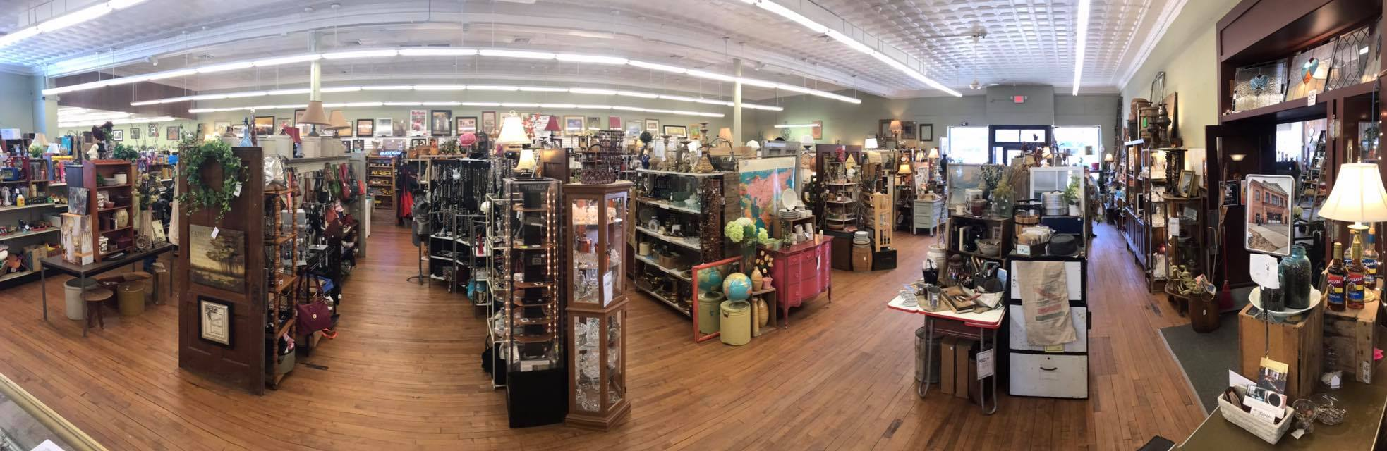 A look at the interior of Rustic Treasures