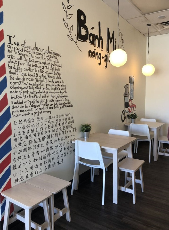 Inside The Bánh Mì Shop