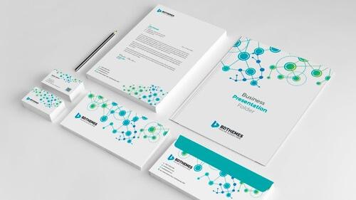 Diseño de materiales - Tarjetas de visita, invitaciones, minutas, material de escritorio, presentaciones PPT, etc.