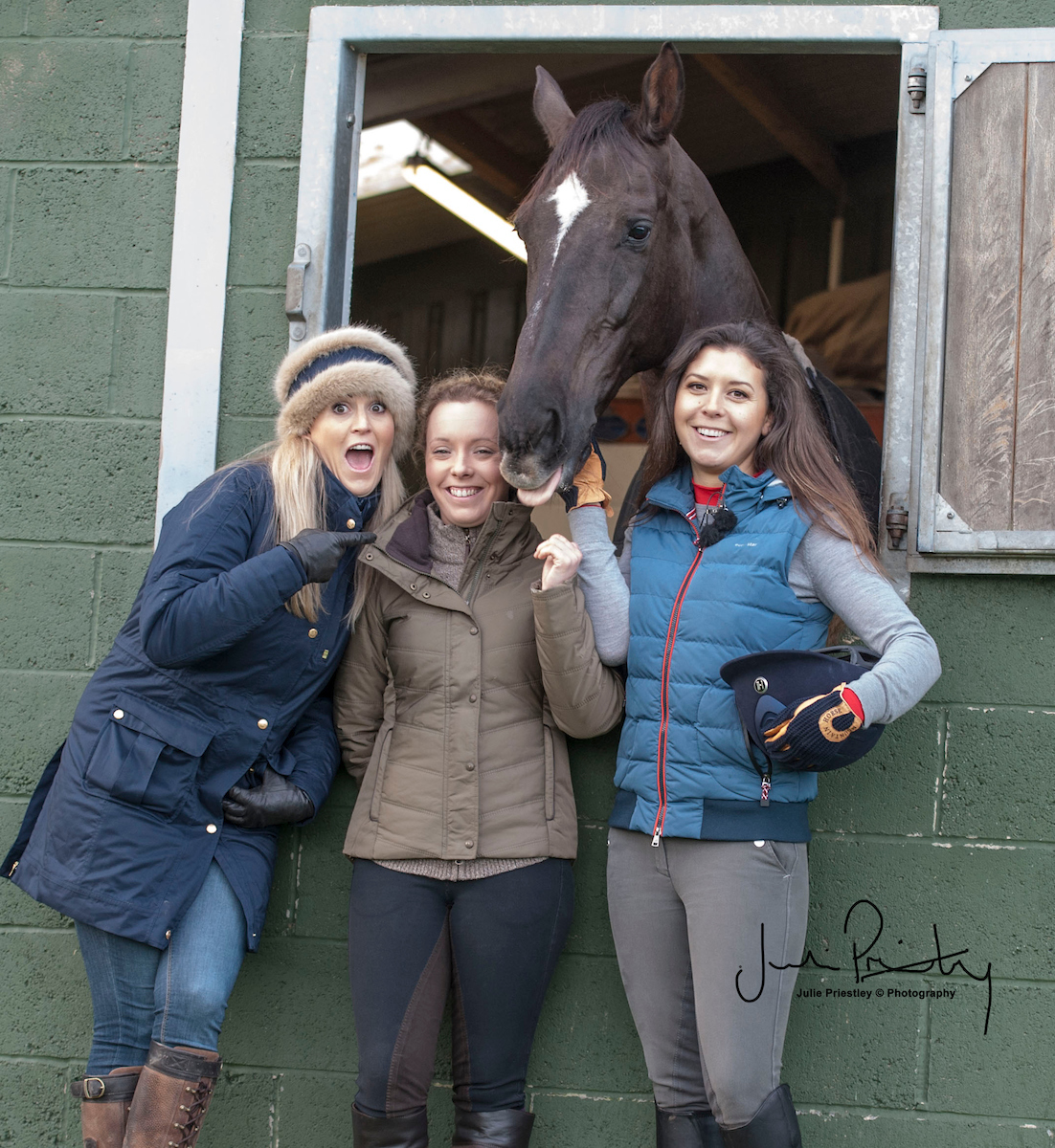 Jenny, Sophie and Rhi for Horse & Country TV
