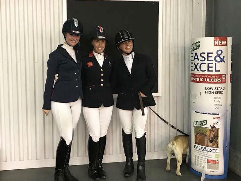 Izzy, Sophie and Georgia