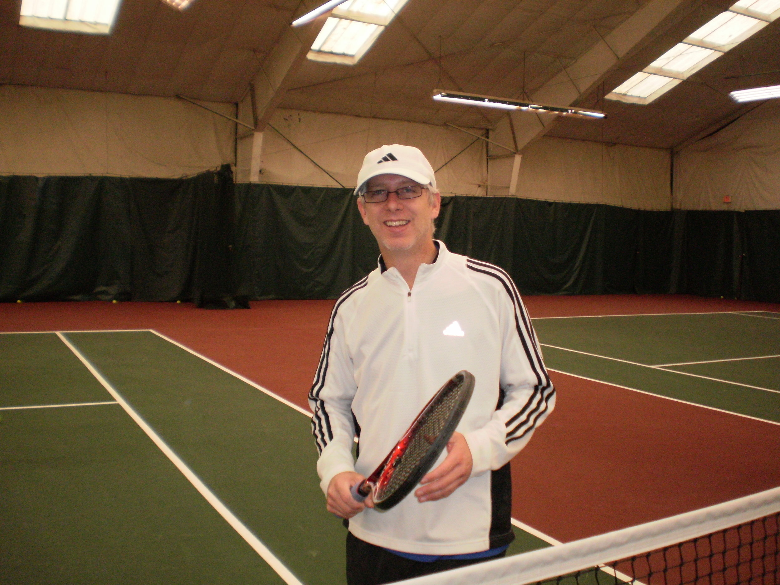 JIM MELESKO    Co-Director of Tennis   Jim has taught at the Nick Bollettieri Tennis Academy in FL working with young aspiring juniors like Maria Sharapova and Tatiana Golovin. He's traveled around the world conducting promotional clinics. Jim has taught in the greater Hartford area for the past 10 years three of which as the head pro at the Newing Tennis Center. Jim is looking forward to teaching all ability levels and sharing his love for the game.