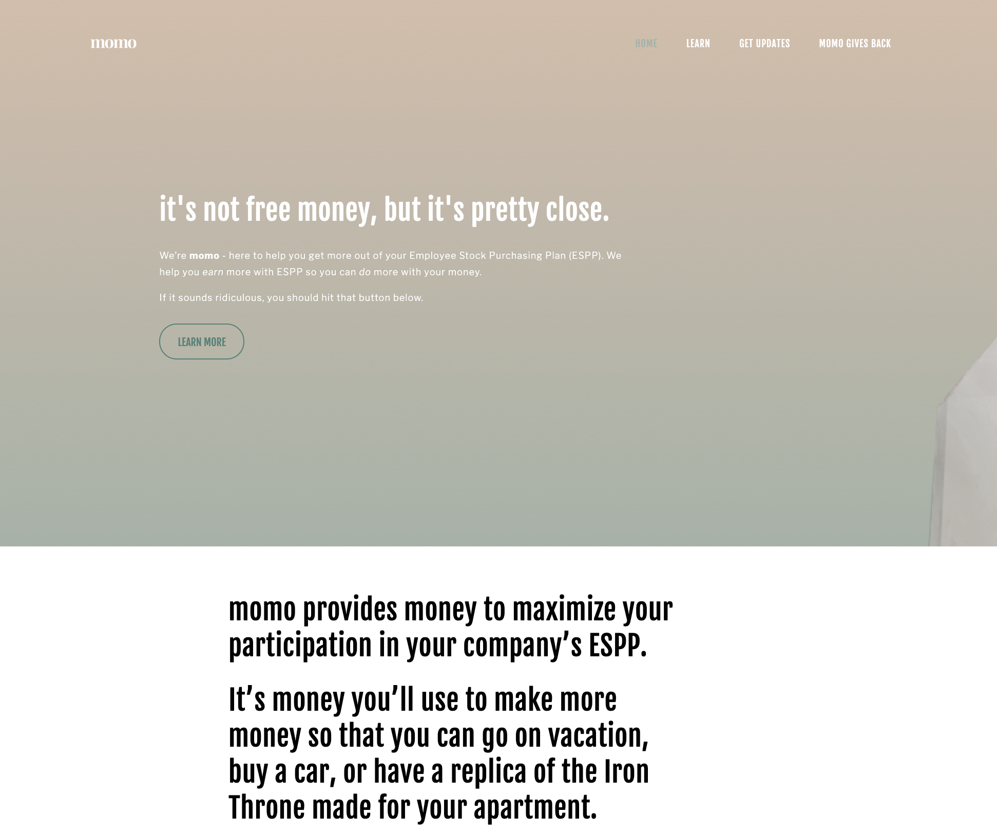 Personal Website - Using the platform of your choice (Squarespace, Wix, etc.) I'll create a website, like this one, that you can easily edit any time you want. I charge a flat fee of $250/site then you'll just have to pay the monthly fee for whatever service you choose (usually $15-$20/month).For an additional $30/page fee, I'll even write and copyedit clever copy for you. :D