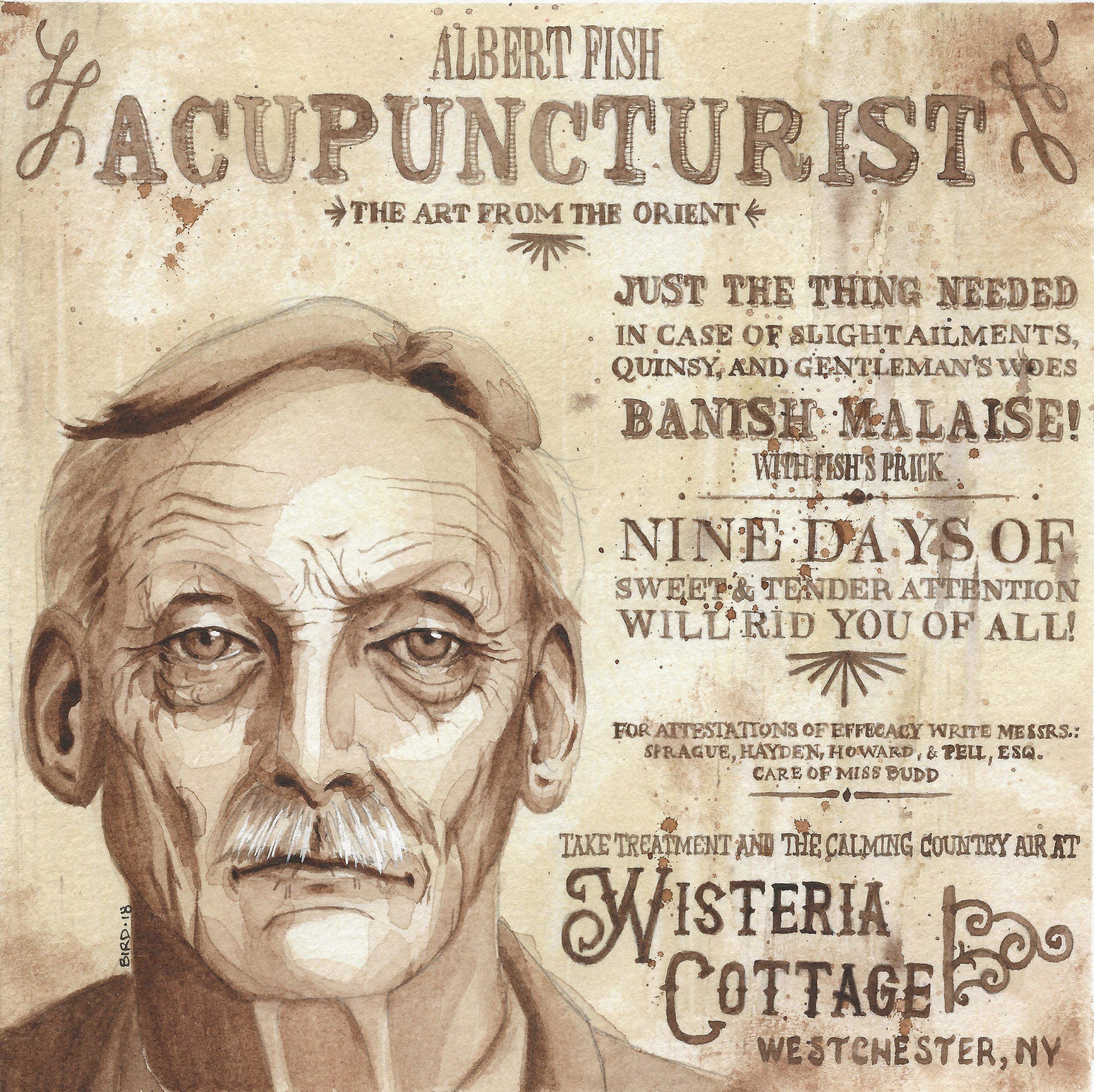Albert Fish, Acupuncturist